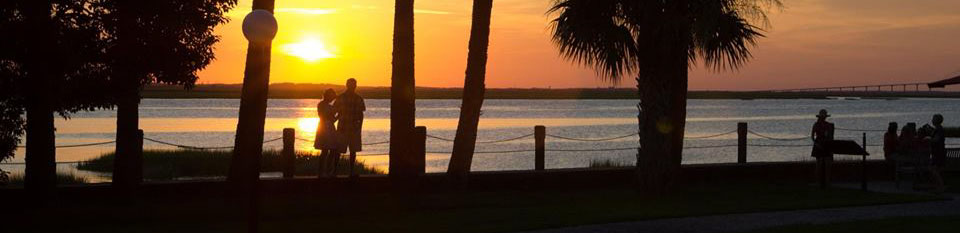 Decorative Jekyll Island sunset